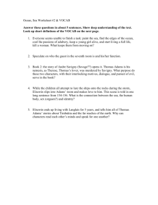 Ocean, Sea Worksheet #2