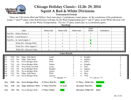 Chicago Holiday Classic– 12.26