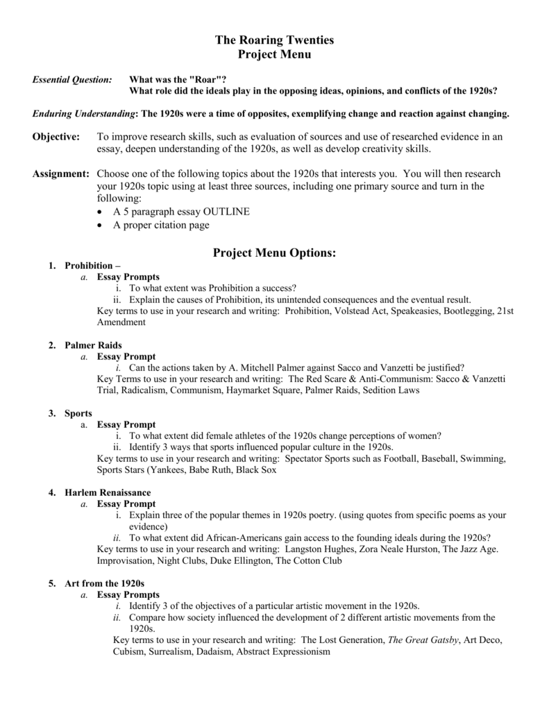 Task 3 Essay Outline