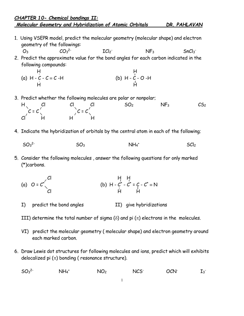 Chapter 9 Practice Exercise