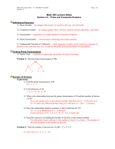 Math 365 Lecture Notes – J