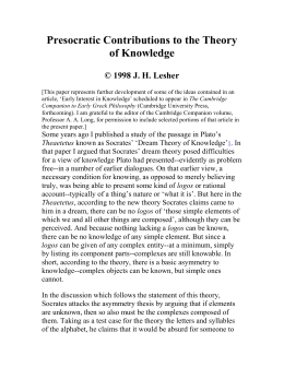 presocratic philosophy essay Volume i collects vlastos's essays on presocratic philosophy wide-ranging concept studies link greek science, religion, and politics with philosophy individual studies illuminate the thought of major philosophers such as heraclitus, parmenides, anaxagoras, and democritus.