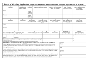 Banns-of-Marriage-Application