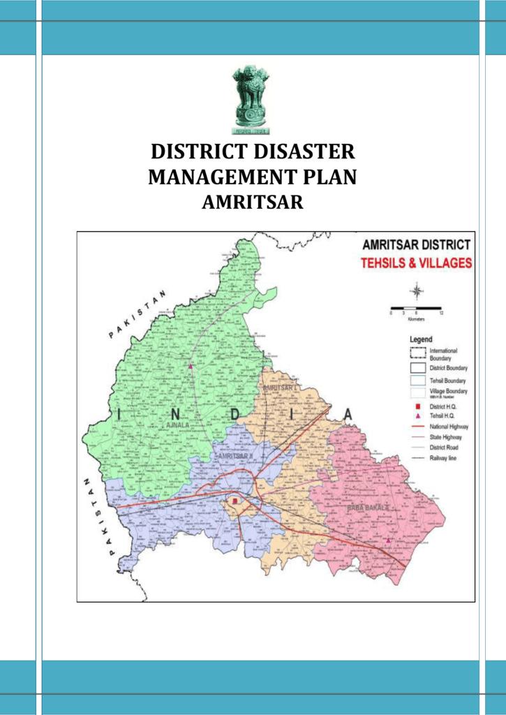 e26508816c2 disaster management plan of amritsar