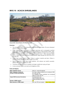 MVG 16 Acacia Shrublands DRAFT - Department of the Environment
