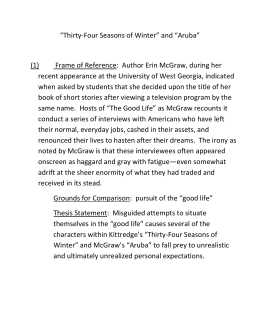 comparison and contrast essay thesis examples - Comparison Essay Thesis Example