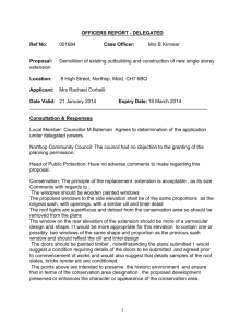 OFFICERS RECOMMENDATION - Flintshire County Council