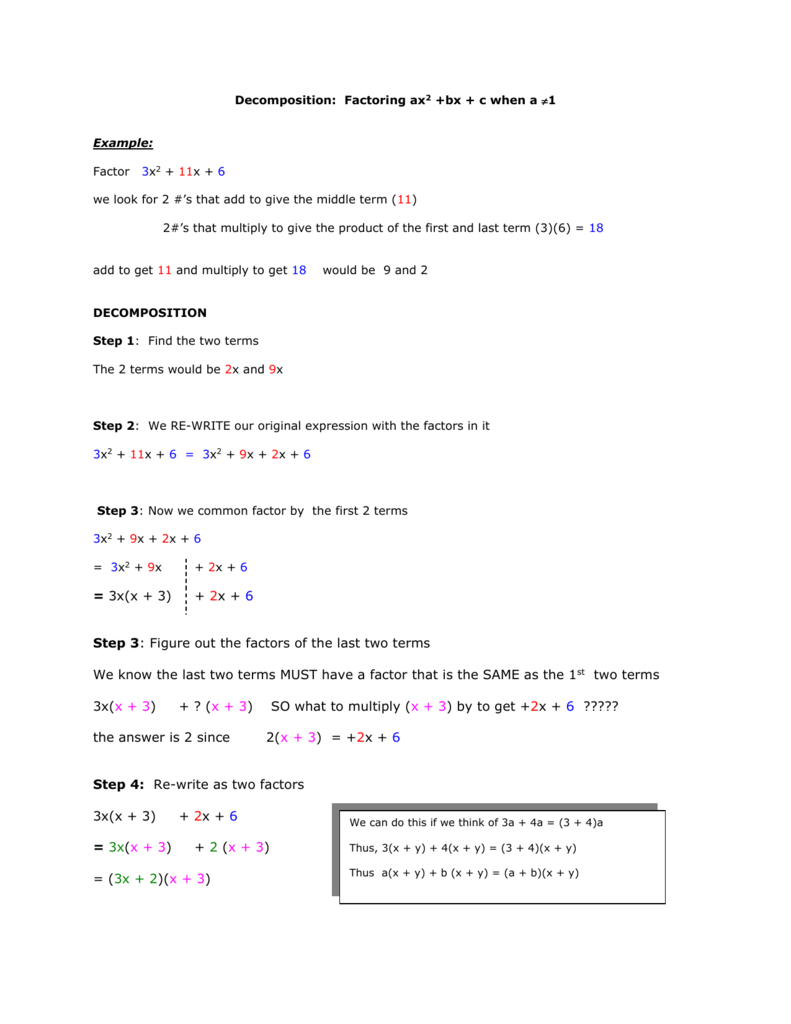 as well  together with Factoring Ax2 Bx C Worksheet to Pin on Pinterest in addition  as well Printables  Factoring Ax2 Bx C Worksheet Answers  Lemonlilyfestival further Factoring Trinomials X2 Bx C Worksheet   Free Printables Worksheet moreover Factoring Trinomials Of The Form Ax2 Bx Practice Type Ax2bxc Answers moreover Factoring Ax2 Bx C Worksheet   Meningrey together with Factoring Trinomials Ax2 Bx C Worksheet Answers Factoring Bx C additionally Factoring Trinomials Worksheet Alge 2 Elegant Factoring together with Pictures Factoring Ax2 Bx C Worksheet Toribeedesign  Factoring Ax2 also  as well Factoring Ax2 Bx C Worksheet Answers moreover Factoring Trinomials Of the form Ax2 Bx C Worksheet Answers together with De position  Factoring ax2  bx   c when a 1 additionally 8 4 Factoring ax2   bx   c Warm Up Lesson Presentation Lesson Quiz. on factoring ax2 bx c worksheet