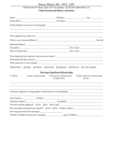 1b Additional Questionnaire for Spouse