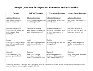 Supervisor Guide for Candidate Evaluation & Intervention