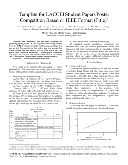 ieee research paper reference format Sample references, ieee format from ee155 course notes fall 1998 (electrical engineering seminar),  bilingual research, 1982) (eric ed 234 636)  reference page format • always use square brac kets around reference numbers [10, pp 78-85] to distinguish from.