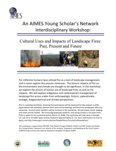 AIMES Young Scholar`s Network hosts an