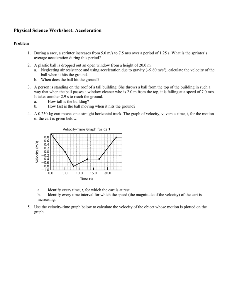 Physics gravity worksheet answers