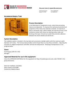 Classroom Metal Anneal Furnace description