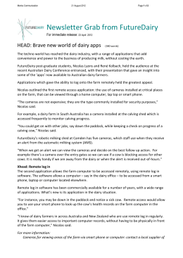 FD Brave new world of dairy apps