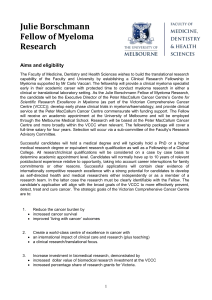 Form - Research - University of Melbourne