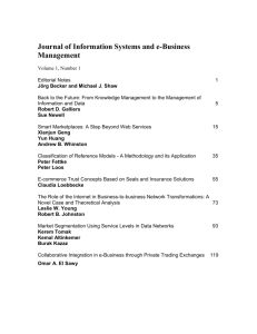 Journal of Information Systems and e