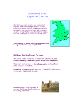 Types of Castles - NarreY8HistoryWIKI