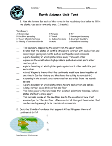 UNit 2 earth science quiz