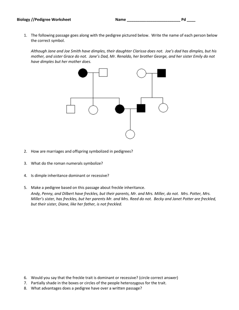 worksheet Genetic Pedigree Worksheet 007868683 2 b42515cca1d52846f5fc04245184c029 png