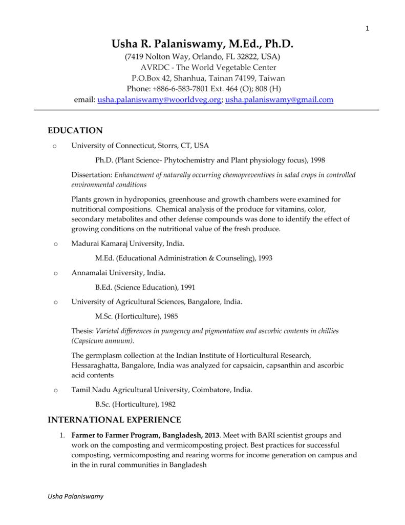 madurai kamaraj university online thesis