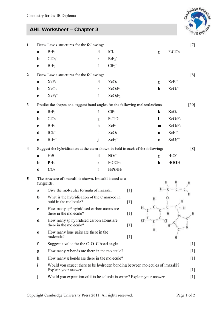 Extension Worksheet Cambridge Resources For The Ib Diploma