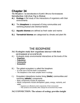 chapter 34 the biosphere rh studylib net Chapter 34 T-Shirt Chapter 34 GI Bill