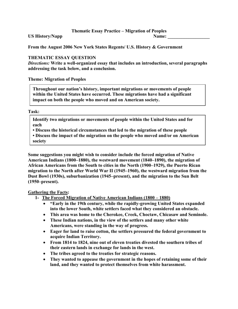 How to Write A DBQ Essay – Regents Prep Global History