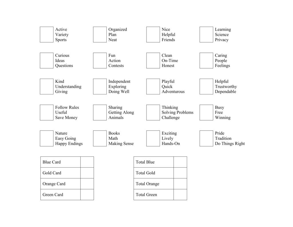 True Colors Worksheet [ 791 x 1024 Pixel ]