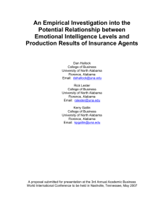 An Empirical Investigation into the Potential Relationship between