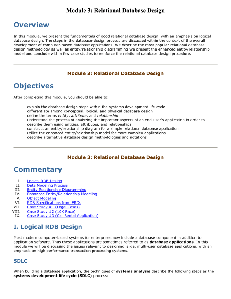 erd case study examples with solutions pdf