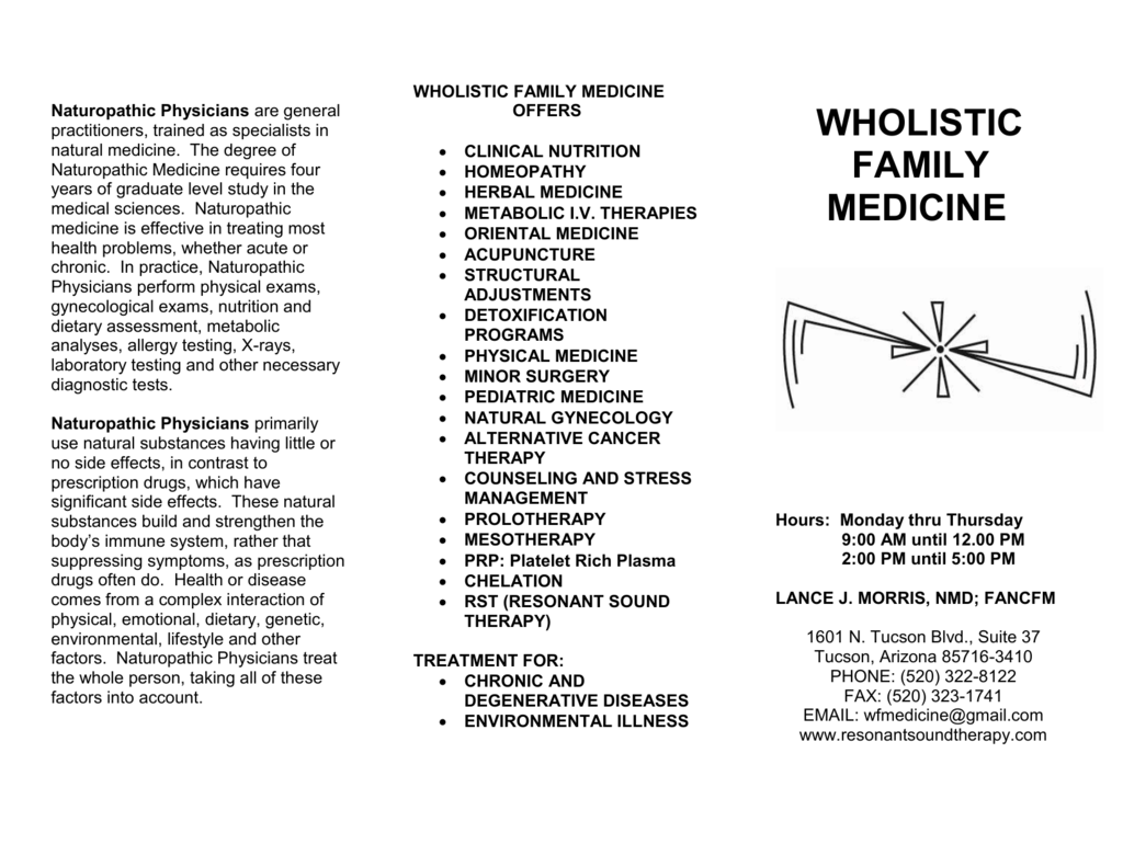 Wfm Clinic Brochure Resonantsoundtherapy