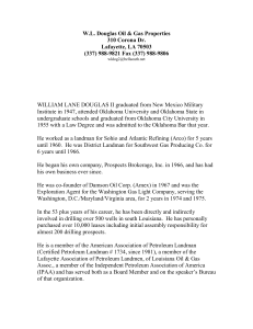 WILLIAM LANE DOUGLAS II graduated from New Mexico Military