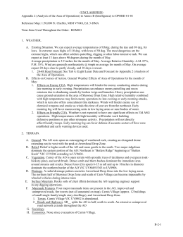 Urban study report format