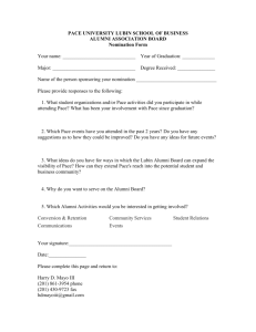 Alumni Association Board Nomination Form