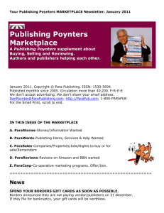 Your Publishing Poynters Newsletter: August 1, 2003