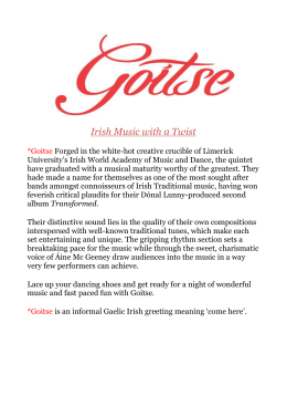 Goitse biography (Word document)