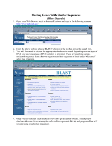Instructions for BLAST [alublast]