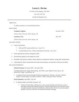 View Attached Resume