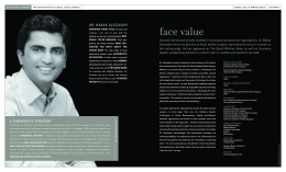 face value - Center for Advanced Facial Plastic Surgery