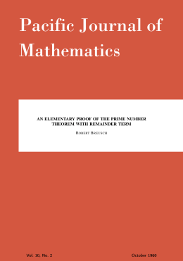 An elementary proof of the prime number theorem with remainder term