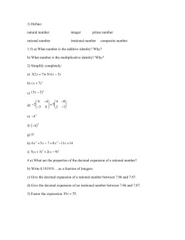 Pre-Algebra With Pizzazz
