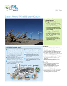 Green Power Wind Energy Center