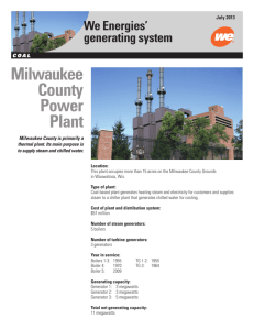 Milwaukee County Power Plant