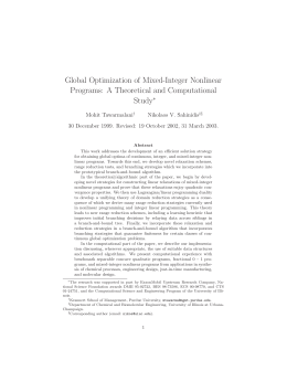 Global Optimization of Mixed-Integer Nonlinear Programs: A