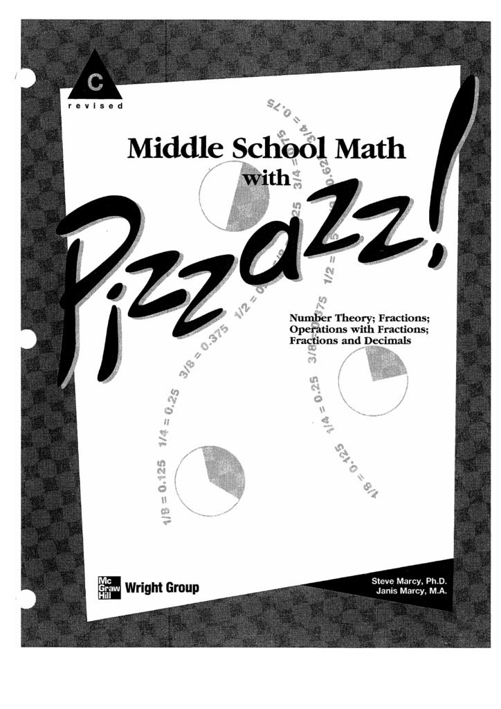 Middle School Math with Pizzazz