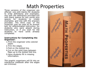 Math Properties - Book Units Teacher