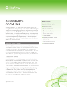 associative analytics