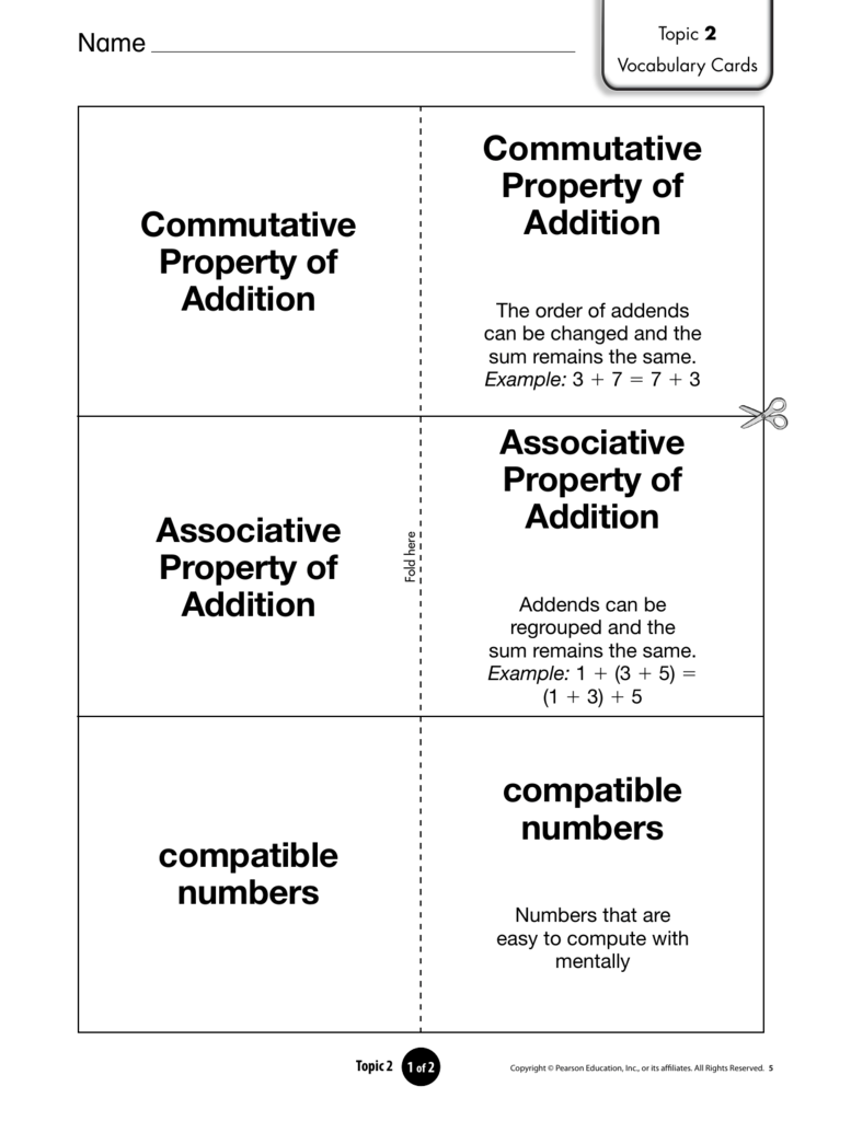 Commutative Property Of Addition Commutative Property Of Addition