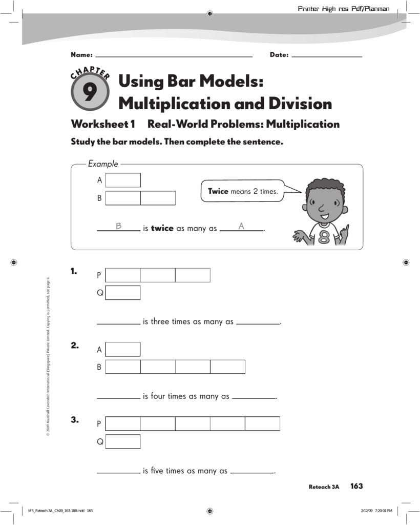 using bar models multiplication and division. Black Bedroom Furniture Sets. Home Design Ideas